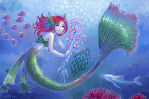 Mermaid by Tedstill