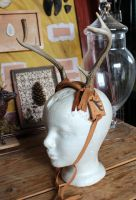 Painted Antler Headband and more! by lupagreenwolf