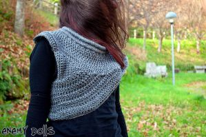 Katniss cowl by Anxocunningham