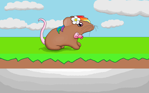 Mouse pixel art by James-The-Zebra