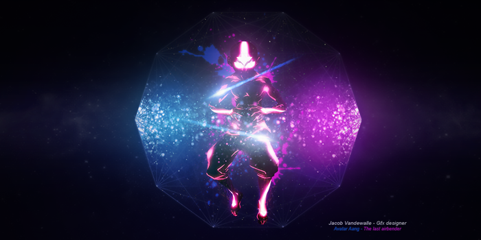 Avatar Aang - Abstract Manipulation by OneDayGFX