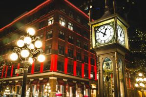 Gastown Steam Clock Vancouver by dart47