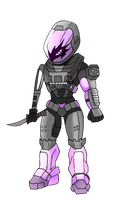 Chibi Spartan B214 omega by SpartanPrincess