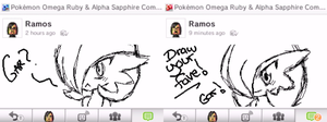 Miiverse Gardevoirs by ItsRamos