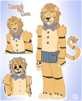 FNAF : Lionel the Lion by HeicanStars