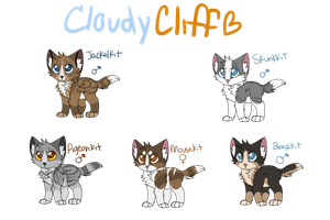 CloudyClifflets by rainwolfeh