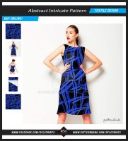Abstract Print Intricate Pattern by danfleites