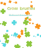 Cross brushes by blacknovART
