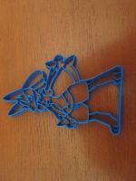 Lucario Cookie Cutter 02 by B2Squared