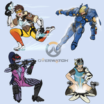 Overwatch lady doodle 01 by VachalenXEON