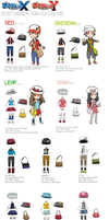 Pokemon XY Character Customization Catalog! by jordanice42