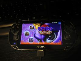 Classic Spyro on the PS Vita by w0lfix