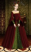 Jane Seymour. Christmas by BellatrixStar88