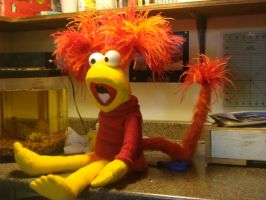 Red Fraggle by xkappax