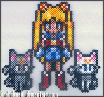 Sailor Moon Sprites by Ginabobina101