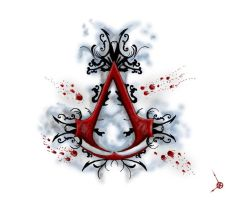 Assassins Creed tattoo design by XxMoonlightWolveXx