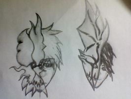 To hollow half masks by Yoshua171