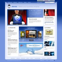Jeeves website, version 1 by fredrikpj