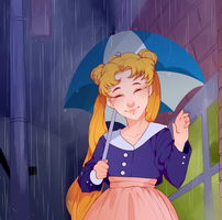 sailor moon screencap redraw by realElfman