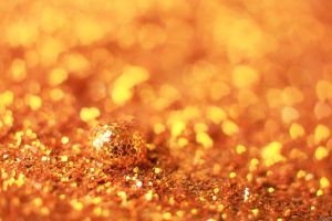 Golden Hearts Bokeh and drop .03. by NumericArt
