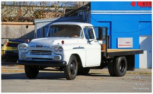 A 1958 Chevrolet Apache 38 1 Ton Flatbed Truck by TheMan268