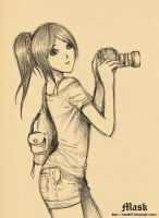 Camera girl by bmad95