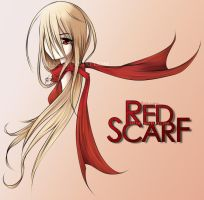 Red Scarf by I3I