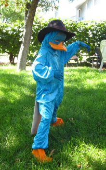 Perry the Platypus Cosplay 2 by Utukki-Girl
