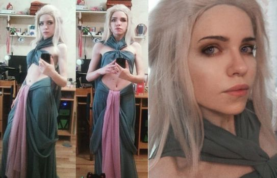 Daenerys Targaryen. Game of Thrones by TophWei
