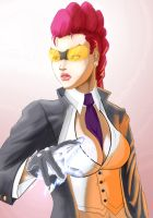 Street Fighter: C. Viper by fire-tisane