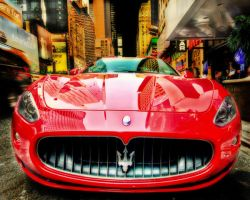 Times Square Maserati by pbredow