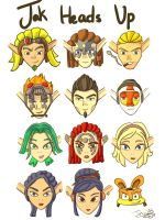 Jak, Heads up! by jinx203