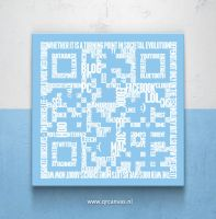 QRcode Word cloud by Leconte