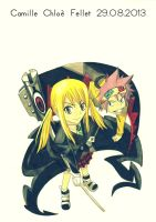 Fairy Tail x Soul Eater by CobraxKinana