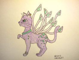 Me, only as a cat-butterfly-bird-horse-thing by Smirkat