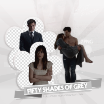 PNG PACK (22) Fifty Shades of Grey by rihannagnu