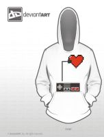 Control My Heart Hoodie by jflaherty90