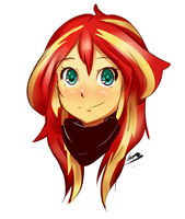 Sunset Shimmer by CronaVonGorgon