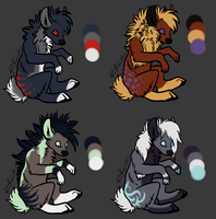 Adopts (closed!) by DrizzleSnow