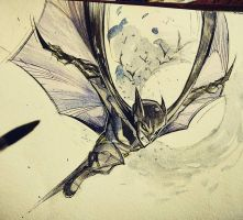 Day 1: Batman by COLOR-REAPER