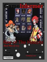 Magazine Cover by LaMont-Naruto16