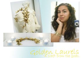 Golden Laurels - Craft by OlympianGrace