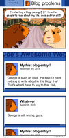 Blog Problems by JoeGPcom