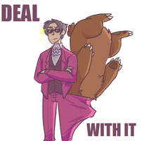 BEAR WITH IT by Choco--Mint