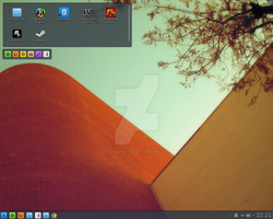 kde on archlinux by Localizator