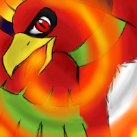 Ho-oh used Sacred Fire by Hinami
