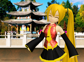 MMD China Neru by Trackdancer