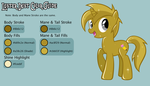 Gilded Guide: A Color Guide for Luster Dust by MidnyteSketch