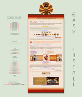 Thanksgiving Turkey Journal Vol.1 - Easy.Install by poserfan