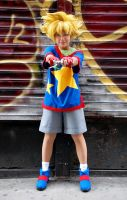 Beyblade V Force Cosplay - Max by TechnoRanma